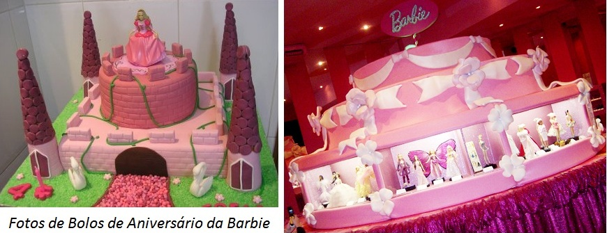 bolo barbie Festa de Aniversário da Barbie Organizar, Artigos Decoração