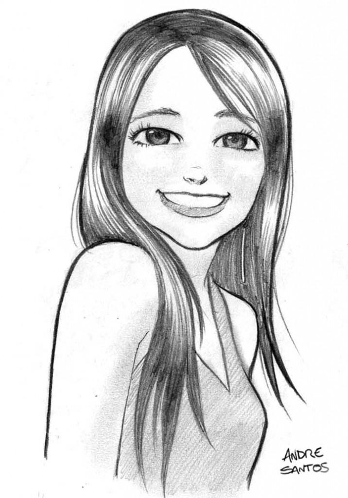 desenho das meninas bonitas colorir 716x1024 Desenhos de Meninas Bonitas para Colorir: Imagens de Lindas Garotas