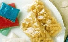 Embalagem Comestível se Dissolve na Água: Tudo sobre a Película, Fotos