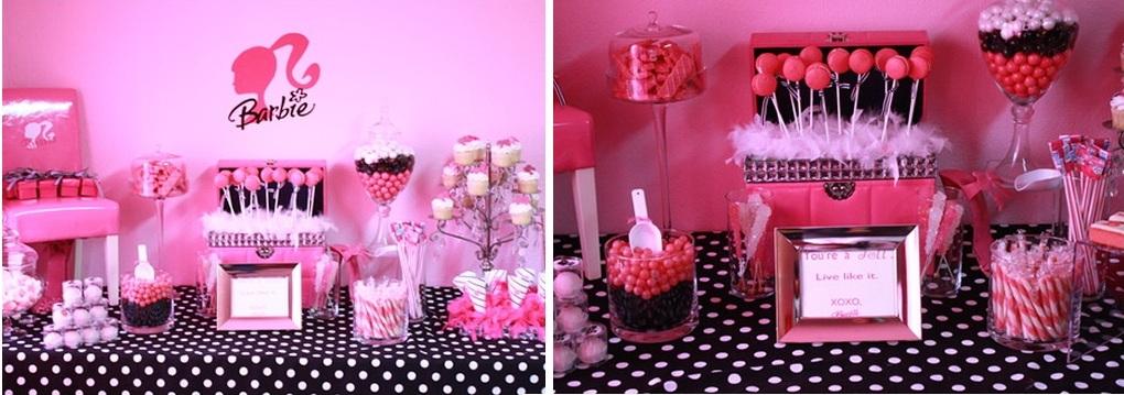 festa aniversario barbir Festa de Aniversário da Barbie Organizar, Artigos Decoração