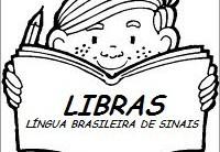 Desenhos para Colorir em LIBRAS: Numeros Online para Imprimir e Pintar