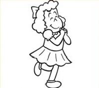 luluzinha colorir3 Desenhos para Colorir da Luluzinha e sua Turma: Bolinha Imagens Online