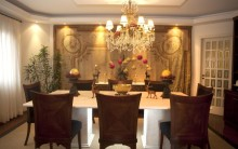 Lustres para Sala de Jantar: Pendente, com Cristais, Modelos, Comprar