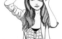 Desenhos de Meninas Bonitas para Colorir: Imagens de Lindas Garotas