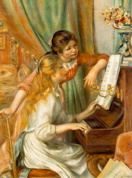 Meninas ao Piano - 1892