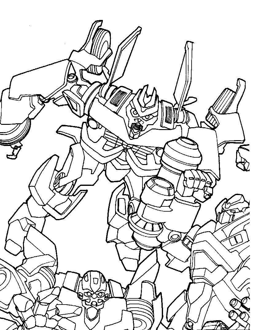 desenhos para colorir dos transformers 4 imagens online para pintar