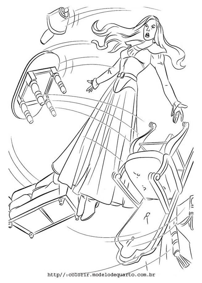 x men desenhos para pintar Desenhos para Colorir do X Men: Wolverine, Vampira, Ciclope etc Online