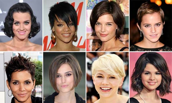Resultado de imagem para cabelo curto famosas