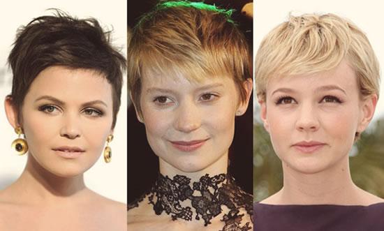 cabelos curtos moda Cabelos Curtíssimos Femininos: Cortes Despojados e Práticos de Famosas