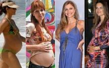 Moda Gestante das Famosas: Estilo das Grávidas e Celebridades, Fotos