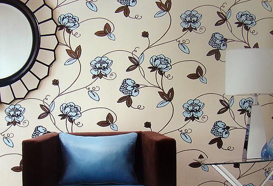tecido na parede 2 Paredes com Tecidos, Como Aplicar e Retirar: Modelos, Decoração, Fotos