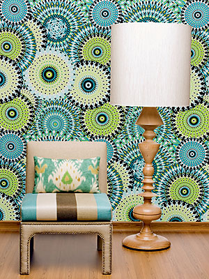 tecidos parede Paredes com Tecidos, Como Aplicar e Retirar: Modelos, Decoração, Fotos