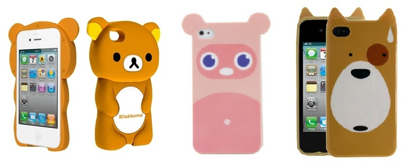 ursos case Cases e Capinhas de iPhone de Animais: Coelho, Hello Kitty e Celulares