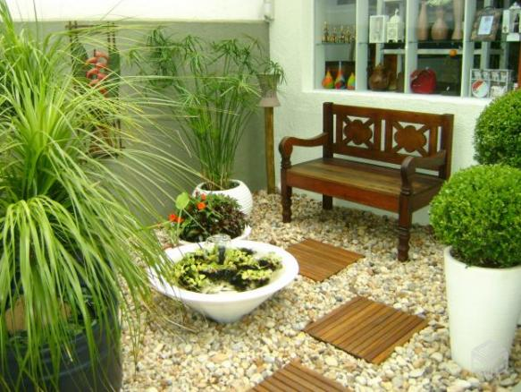 Jardins Pequenos Como Montar Em Casa Vasos De Plantas E