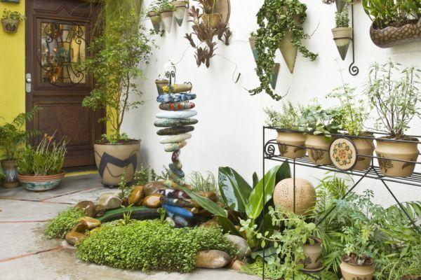 jardins quintal pequeno:Modelos De Jardins Pequenos