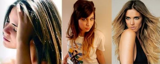 mechas em cabelos Luzes, Reflexos e Mechas nos Cabelos: Diferença, Indicações e Modelos