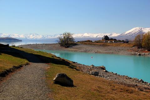 nova zelandia lago Nova Zelândia Paisagens: Fotos de Montanhas, Natureza, Turismo no País