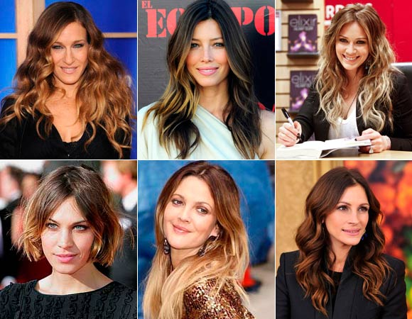 Ombre Hair Degrade Natural Dos Fios Como Fazer Mechas Modelos Fotos