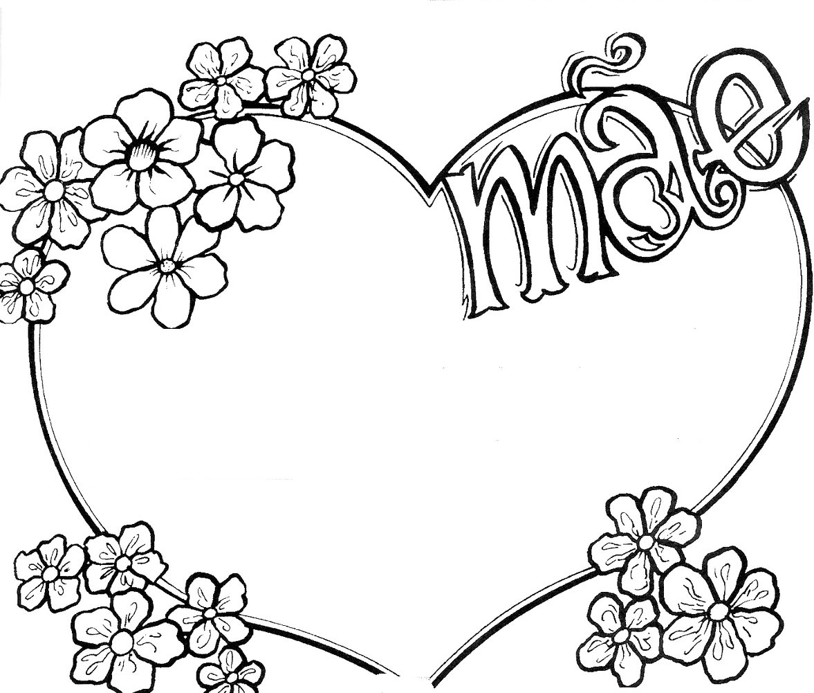 Desenhos para Colorir do Dia das Mães: Imagens Online para Presentear