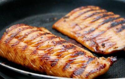 salmao grelhado receita peixe3 Filé de Salmão Grelhado: Receita de Peixe Passo a Passo para Dieta