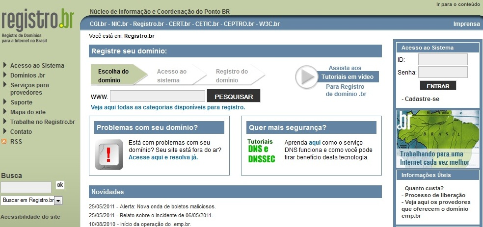 sites para registrar dominios gratis.