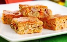 Receita de Torta de Palmito e Verduras: Escarola, Brócolis, Espinafre