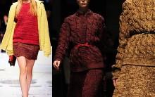 Moda Tricô Inverno 2012 2013: Roupas, Vestidos, Blusas, Cachecóis Foto