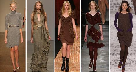 vestidos de trico para inverno 2013 Moda Tricô Inverno 2012 2013: Roupas, Vestidos, Blusas, Cachecóis Foto