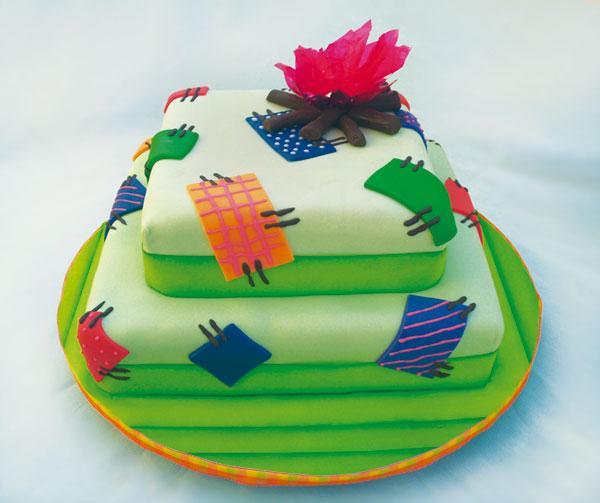 bolo caipira Modelos de Bolo Caipira: Fotos, Casamento, Festa Junina, Aniversário