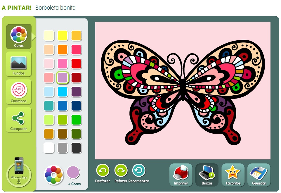desenho colorir online Desenhos para Colorir Online: Imagens para ...