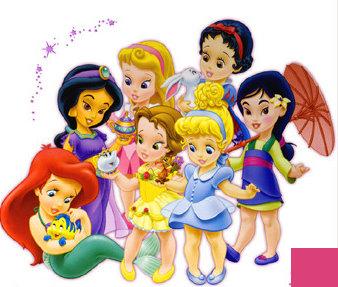 Desenhos Para Colorir De Princesas Disney Baby Imagens Online Pintar