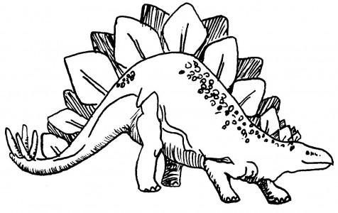 dinos pintar Desenhos para Colorir de Dinossauros: Imagens Online, Imprimir, Pintar
