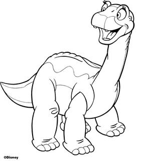 dinossauro Desenhos para Colorir de Dinossauros: Imagens Online, Imprimir, Pintar