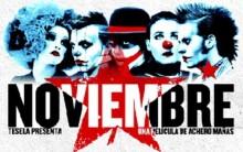Alfredo Baeza: Jovem Morto em Teatro, Manifesto Noviembre
