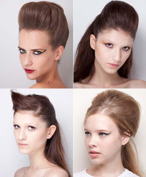 topetes noivas penteados Penteados com Topete para Noivas: Lindos Modelos Presos e Soltos Fotos