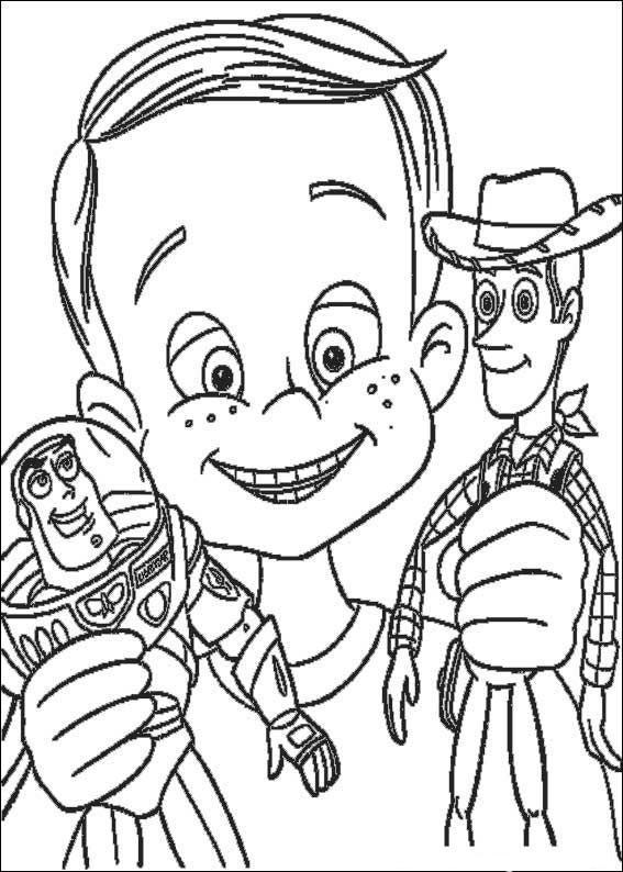 Desenhos Para Colorir De Toy Story Imagens Do Filme Para Imprimir