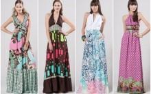 Vestidos Longos Moda 2012 2013: Modelos Estampados, Como Usar e Fotos