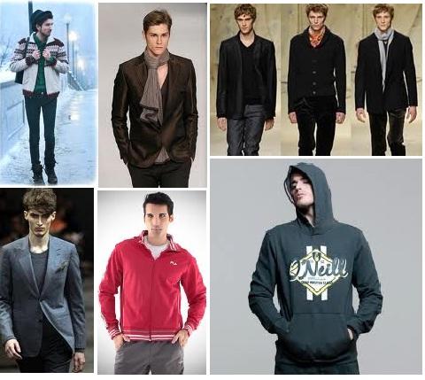 agasalhos masculinos Agasalhos e Blusas Femininas e Masculinas Inverno 2012 2013, Modelos