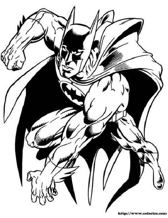 desenhos colorir batman 2 Desenhos para Colorir do Batman: Imagens Online para Imprimir e Pintar