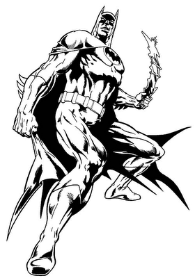imagens para pintar batman Desenhos para Colorir do Batman: Imagens Online para Imprimir e Pintar