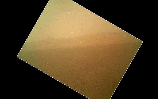 imagem colorida marte Curiosity busca Vida em Marte: Últimas Fotos do Jipe Robô, Imagens