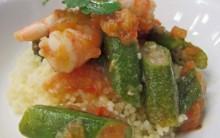 Receita Camarão com Quiabo: Chef Roberta Sudbrack Mais Você 06/09/12