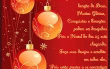 Cartões de Natal 2013: Modelos Online Grátis para Imprimir e Fotos
