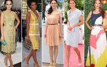 Roupas das Famosas para Imitar: Melhores Looks e Modelos de Vestidos
