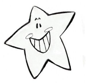 desenhos de estrelas para colorir imagens online pintar e imprimir