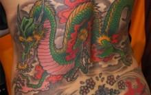 Tatuagens de Dragão: Modelos nas Costas, Dicas e Fotos