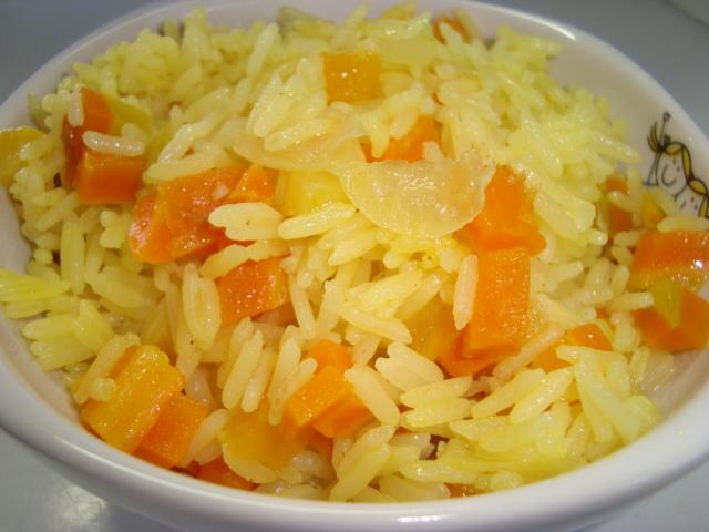 Resultado de imagem para Arroz com cenoura