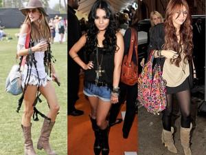 Roupas da moda Botas