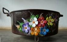 Dicas de Como Reciclar Panelas Usadas: Artesanato e Vasos com panelas