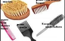 Tipo de Pentes e Escovas de Cabelo: Como Usar, Indicação
